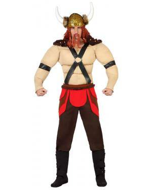 Fato Viking Musculoso Adulto Disfarces A Casa do Carnaval.pt