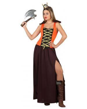 Fato Viking Sexy Mulher Disfarces A Casa do Carnaval.pt