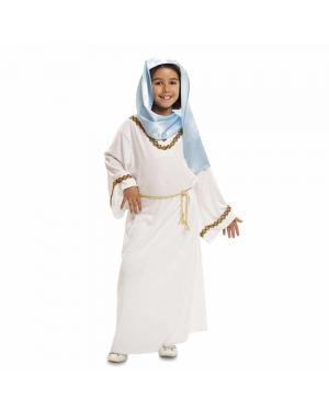 Fato Virgem Maria Menina para Carnaval