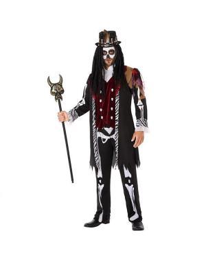 Fato Voodoo Homem para Carnaval