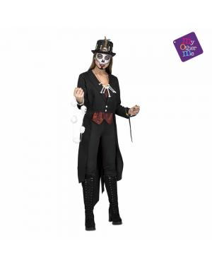 Fato Voodoo Master Mulher M/L para Carnaval
