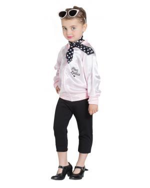 Jaqueta Pink Lady Infantil para Carnaval