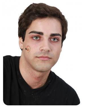 Maquiagem Lunar Bruxa 2 5cm (6 unidades) Loja de Fatos Carnaval, Disfarces, Artigos para Festas, Acessórios de Carnaval, Mascaras Perucas 637 acasadocarnaval.pt