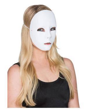 Comprar Máscara Branca, Loja de Fatos Carnaval, Disfarces, Artigos para Festas, Acessórios de Carnaval, Mascaras, Chapeus e Fantasias 839 acasadocarnaval.pt