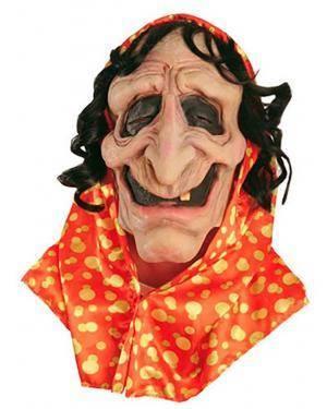 Máscara Bruxa Cigana Disfarces A Casa do Carnaval.pt