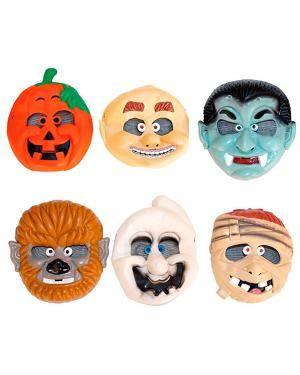 Máscara Criança Halloween (3 Unidades) Disfarces A Casa do Carnaval.pt