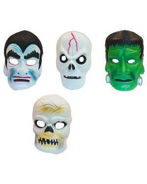 Máscara Criança Horror (4 Unidades) Disfarces A Casa do Carnaval.pt