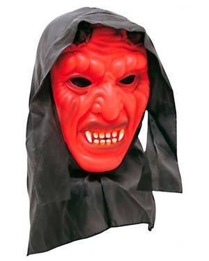 Máscara Diabo com Capuz (2 Unidades) Disfarces A Casa do Carnaval.pt