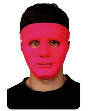 Máscara Fluorescente Lilás, Loja de Fatos Carnaval, Disfarces, Artigos para Festas, Acessórios de Carnaval, Mascaras, Perucas, Chapeus 904 acasadocarnaval.pt
