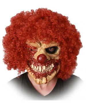 Máscara Palhaço Zombie Disfarces A Casa do Carnaval.pt