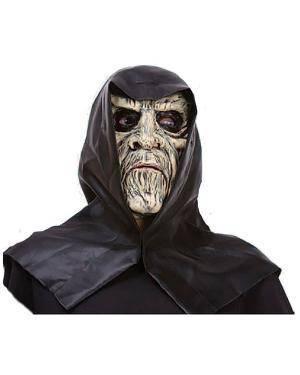 Máscara Zombie com Capuz Disfarces A Casa do Carnaval.pt