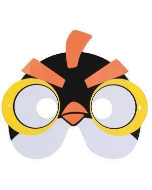 Mascarilha Eva Passarinho Angry Birds Amarelo (6 unidades), Loja de Fatos Carnaval, Disfarces, Acessórios de Carnaval, Mascaras, Perucas 514 acasadocarnaval.pt