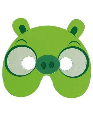 Mascarilha Eva Porquinho Angry Birds (6 unidades), Loja de Fatos Carnaval, Disfarces, Artigos para Festas Acessórios de Carnaval Mascaras 895 acasadocarnaval.pt