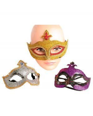 Mascarilha Plástico Veneza (3 Unidades) Disfarces A Casa do Carnaval.pt