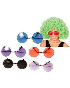 Óculos de Hippie Gigantes (3 Unidades) Disfarces A Casa do Carnaval.pt