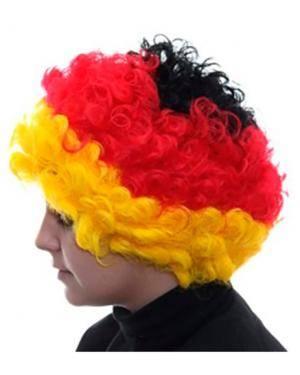 Peruca Caracóis Alemanha Disfarces A Casa do Carnaval.pt