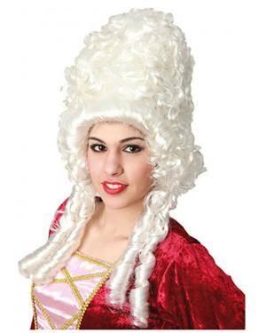 Peruca Duquesa da Época Disfarces A Casa do Carnaval.pt
