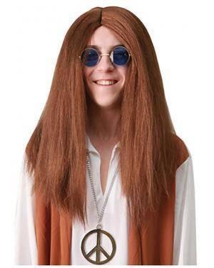 Peruca de Hippie Disfarces A Casa do Carnaval.pt