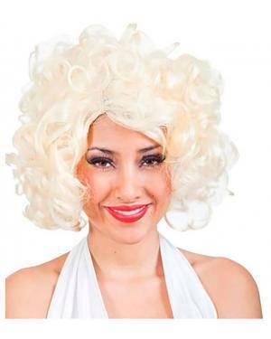Peruca Marilyn, Loja de Fatos Carnaval, Disfarces, Artigos para Festas, Acessórios de Carnaval, Mascaras, Perucas, Chapeus e Fantasias 595 acasadocarnaval.pt