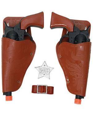 Pistolas Cowboy (2 Unidades) Disfarces A Casa do Carnaval.pt