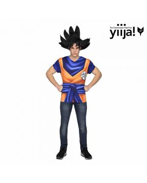 T-shirt de Goku Adulto para Carnaval