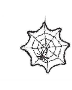 Teia de Aranha com Aranhas 50cm Ø  Disfarces A Casa do Carnaval.pt