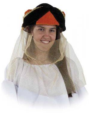 Turbante de Mourisca Mulher Adulto M/L para Carnaval | A Casa do Carnaval.pt
