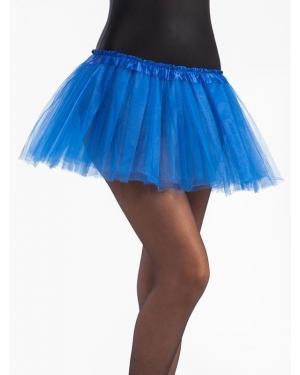 Tutu 30 Cms Azul para Carnaval