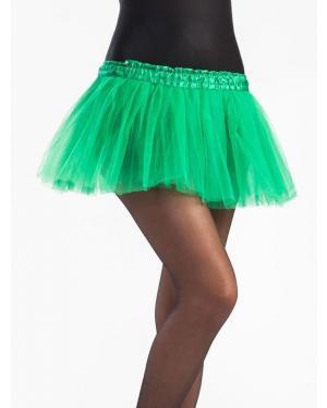 Tutu 30 Cms Verde Relva para Carnaval