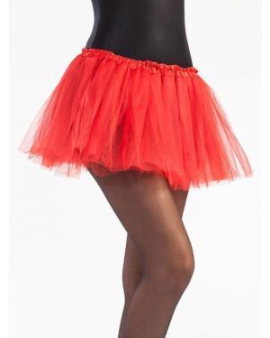 Tutu 30 Cms Vermelho para Carnaval