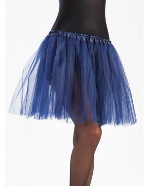 Tutu 40 Cms Azul Escuro para Carnaval