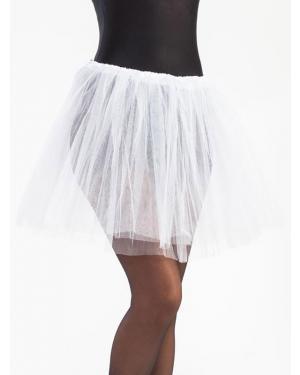 Tutu 40 Cms Branco para Carnaval