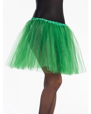 Tutu 40 Cms Verde Relva para Carnaval