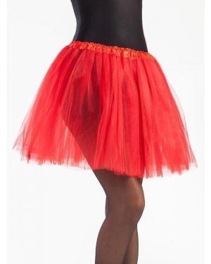 Tutu 40 Cms Vermelho para Carnaval