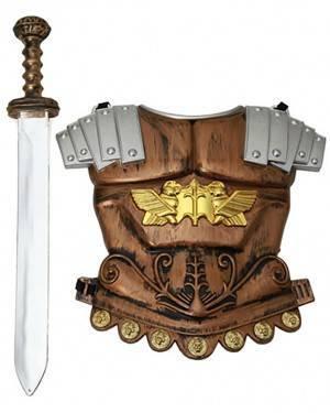 Armadura Romano com Espada Criança