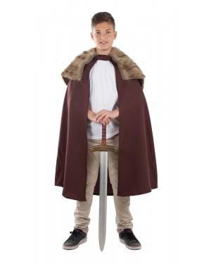 Capa de Disfarce Medieval Infantil