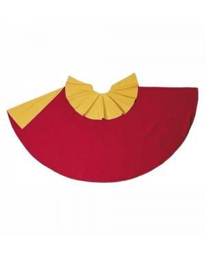 Capote Vermelho-Amarelo Adulto M/L