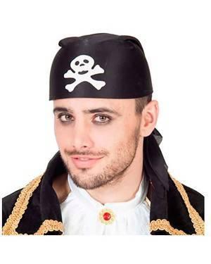 Chapéu de Pirata tipo Lenço (3 Unidades)