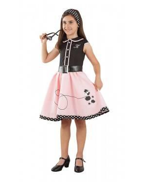 Disfarce de Vestido Pink Lady Menina