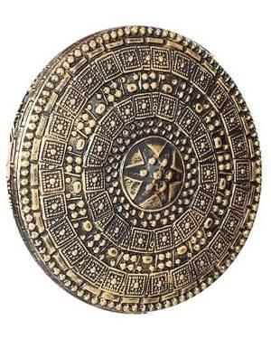 Escudo Romano Dourado