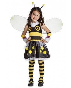 Fato Abelha Menina 5-6 Anos para Carnaval