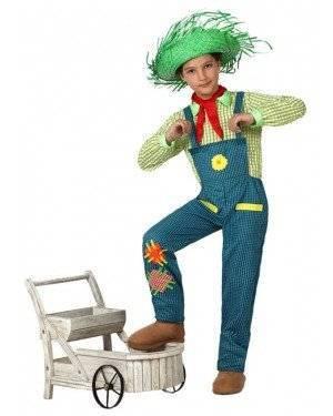 Fato Agricultor Jardineiro Menino, Loja de Fatos Carnaval, Disfarces, Artigos para Festas, Acessórios de Carnaval, Mascaras, Perucas 219 acasadocarnaval.pt