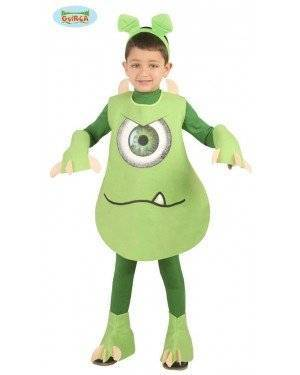 Fato Alien Criança para Carnaval o Halloween 12029 | A Casa do Carnaval.pt