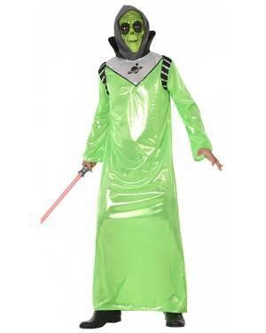 Fato Alien Verde Homem Adulto M/L, Loja de Fatos Carnaval, Disfarces, Artigos para Festas, Acessórios de Carnaval, Mascaras, Perucas 685 acasadocarnaval.pt