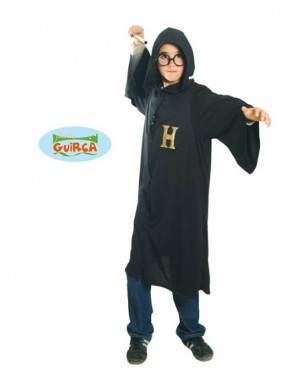 Fato Aprendiz de Mago Harry Criança para Carnaval o Halloween 11817   A Casa do Carnaval.pt