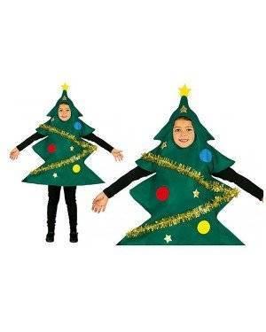Fato Arvore de Natal adornado para Menino para Carnaval o Halloween 12714 | A Casa do Carnaval.pt