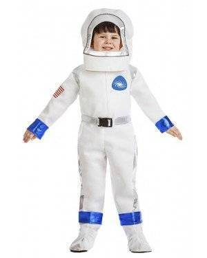 Fato Astronauta Menino 7-9 Anos para Carnaval