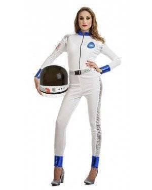 Fato Astronauta Mulher Tamanho M/L para Carnaval