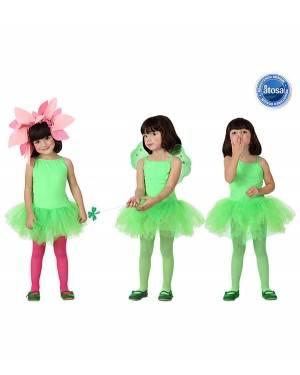 Fato Bailarina Dançarina Verde Menina