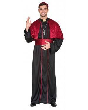 Fato Bishop Adulto M/L, Loja de Fatos Carnaval, Disfarces, Artigos para Festas, Acessórios de Carnaval, Mascaras, Perucas, Chapeus 349 acasadocarnaval.pt